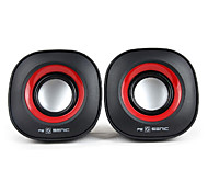 SENIC SN-458 Tragbarer Mini-Lautsprecher für Laptops / PC (1 Paar)