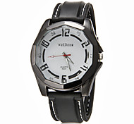 Men's Sport Watch Quartz Band Black