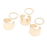 European Style Fashion 6 PCS Finger Ring Settings