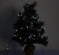 10M 6W 100-420LM LED Light Strip LED bianco Luce per Decorazioni di Natale con 8 modalità di visualizzazione (220V)