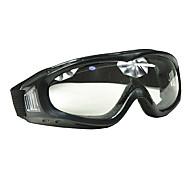 A prueba de polvo a prueba de viento Transparence lentes Gafas de esquí