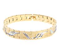 Mlle le cuivre des hommes bracelet en or rose®high-qualité