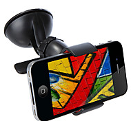 Universal Windshield 360 Rotating Car Mount Bracket Phone Holder Stand for iPhone GPS tablet Accessories Black / White