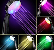 Water Flow Power Generation gradual del color cambiante ducha de mano LED