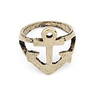 European Style Fashion Anchor Band Ring