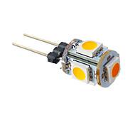 LED a pannocchia 5 SMD 5050 T G4 1W 70 LM Bianco caldo DC 12 V
