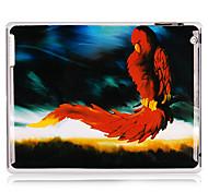 Firehawk Pattern Caso Voltar plástico para iPad 2/3/4