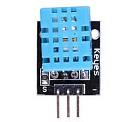 (Pour Arduino) DHT11 compatible température numérique module de capteur d'humidité - noir + bleu