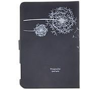 patrón de diente de león caso negro para ipad Mini 3, Mini iPad 2, iPad mini