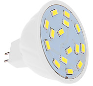 Focos LED MR16 5W 15 SMD 5630 460 LM Blanco Fresco DC 12 V