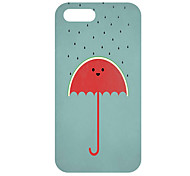Cartoon UmbrellaPattern Hard Case für iPhone 5/5S