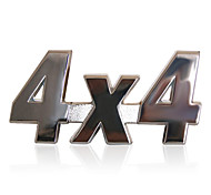 RT Metal 4x4 Sticker