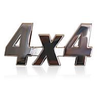 RT Metal 4x4 Sticker