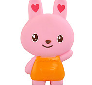 Visual Lovely Sounding Pink PVC Rabbit Bath Toy
