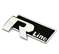 RT Metal R-Line Sticker