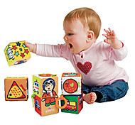 Baby Different Pictures Six Blocks Toy