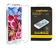 Angibabe 0.33mm Russian Spanish Engish Version Tempered Glass Screen Protector for Samsung Galaxy S4 mini/ i9190