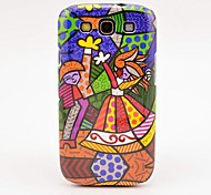 Dancing Girl Oil Painting Pattern Case for Galaxy 3 I9300