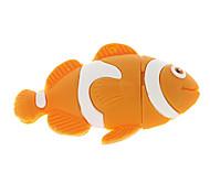 4G Fish Shaped USB Flash Drive