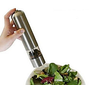 Stainless Steel Electric Kitchen Tool Salt Pepper Grinder