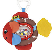 Rattling Flippo Fish with Little Balls Toy