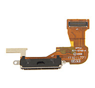 Reemplazo de conector Dock Puerto Flex Ribbon Cable para iPhone 3GS