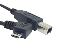 U2-203-RI Micro USB OTG Male to USB BM Cable for Samsung Tablets and Mobile Phones