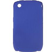 Simple estuche rígido diseño de malla para Blackberry 8520 8539 (colores surtidos)