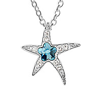 High Quality Star Crystal Pendant Necklace
