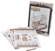54 Pieces DIY Paper 3D Puzzle Torre de Belem