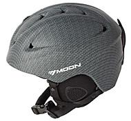 MOON® Casco Per donna / Per uomo / Unisex Neve Casco Sport Half Shell Casco protettivo da sport Grigio Casco neve ABSSport da neve /
