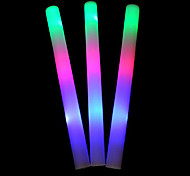 3-Mode Gradiente Flashing LED branco vara do fulgor Props Concert (1PCS)