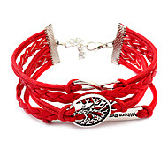 Alloy Bracelet Multilayer European Weave Bracelet