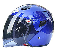 ABS Material Motorcycle Half Helmet (With The Tawny Lens,Optional Colors)