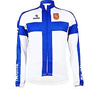 Kooplus - Finnish National Team Cycling Long Sleeve Fleece Jersey