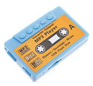TF Card Reader MP3 Player Tape Shape Blue