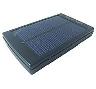 5500mAh batterie externe banques d'alimentation solaire portable pour iPhone 4 / 4S / 5 / 5s samsungs3 / s4 / s5 ipad téléphone portable