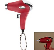 COHIBA 6499 Mini Portable Hair Dryer Style Jet Flame Strong Fire Windproof Inflatable Lighter