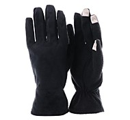 Women 3-Fingers Black Touch Screen Gloves for iPhone and iPad