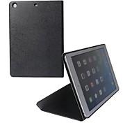 Classic Fine Estrías Triángulo Fold PU Protección Funda de cuero para iPad Case Opción del aire