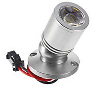 1W 110LM 6000-6500K fredda dello specchio LED bianco Vino luce del Governo-Silver (CA 90-240V)