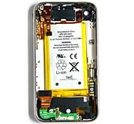Asamblea de la cubierta posterior con todas las piezas y de la batería para el iPhone 3G (8GB)