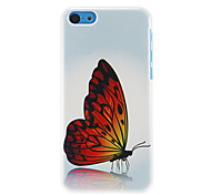 Gorgeous Butterfly Pattern Hard Case for iPhone 5C