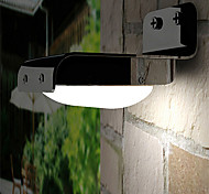 16-LED Voice Sensor Outdoor Solar Powered Light Landscape Garden Wall Fence