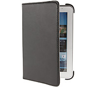 360° Rotation PU Leather Case with Stand Function for Samsung Galaxy Tab P6200 P3100