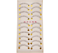 Hand-made Natural False Lower Eyelashes 021#