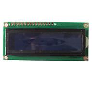 1602 16X2 Character LCD-Modul-Anzeige LCM HD44780 mit blauer Hintergrundbeleuchtung