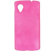 Einfache Design-Matt Hard Case für LG NEXUS 5 (verschiedene Farben)