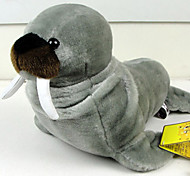 Large-sized Adorable Gray Stuffed Sea Lion Doll Toy Gift