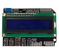 tarjeta de expansión de entrada de caracteres LCD1602 lcd / salida lcd escudo teclado para (para arduino)